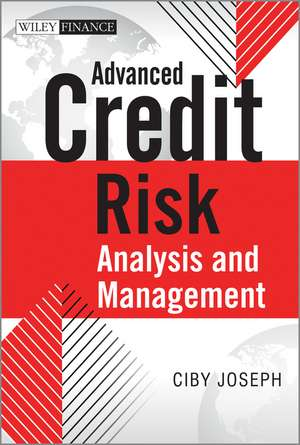 Advanced Credit Risk Analysis and Management imagine