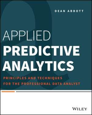 Applied Predictive Analytics imagine