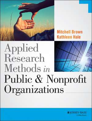 Applied Research Methods in Public and Nonprofit Organizations imagine