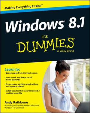 Windows 8.1 For Dummies de Andy Rathbone