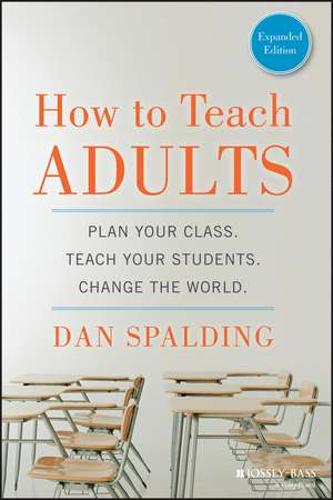 How to Teach Adults