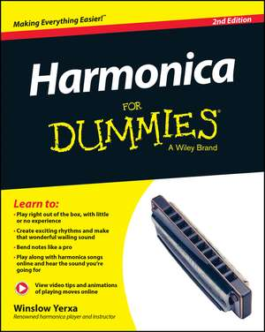 Harmonica For Dummies de Winslow Yerxa