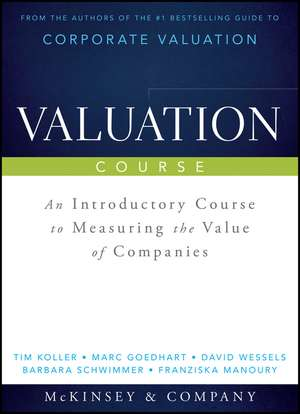 Valuation Course: An Introductory Course to Measuring the Value of Companies de Tim Koller