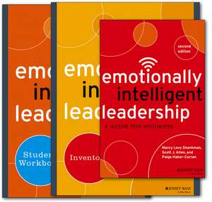 Emotionally Intelligent Leadership for Students: Deluxe Student Set de Marcy L. Shankman