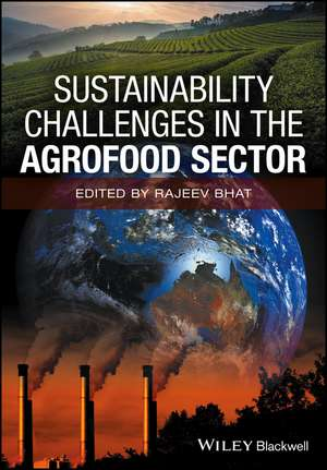 Sustainability Challenges in the Agrofood Sector de Rajeev Bhat