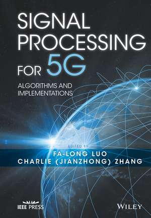 Signal Processing for 5G
