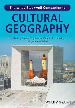The Wiley–Blackwell Companion to Cultural Geography