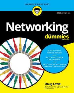 Networking For Dummies de Doug Lowe