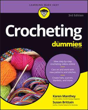 Crocheting For Dummies, + Video