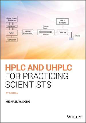 HPLC and UHPLC for Practicing Scientists de Michael W. Dong