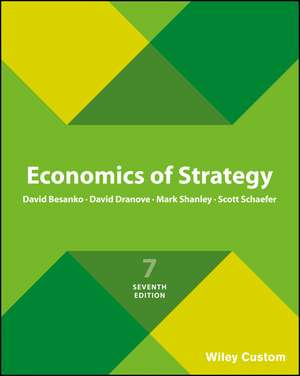 Economics of Strategy 6e International Student Ver Sion Premium Custom Edition