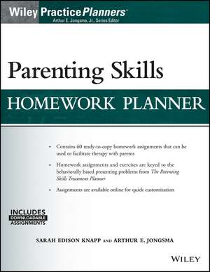Parenting Skills Homework Planner (w/ Download)