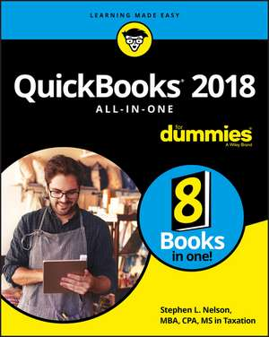 QuickBooks 2018 All–in–One For Dummies