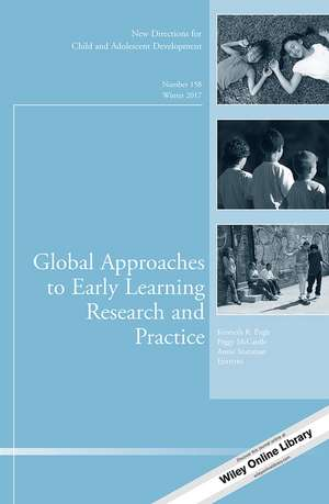 Global Approaches to Early Learning Research and Practice
