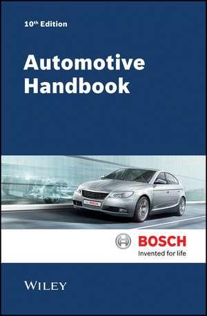Bosch Automotive Handbook de Robert Bosch GmbH