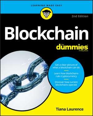 Blockchain For Dummies imagine