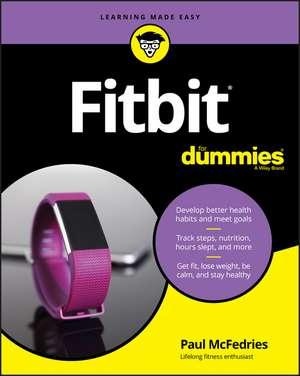 Fitbit For Dummies de Paul McFedries