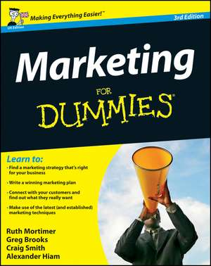 Marketing For Dummies de Ruth Mortimer