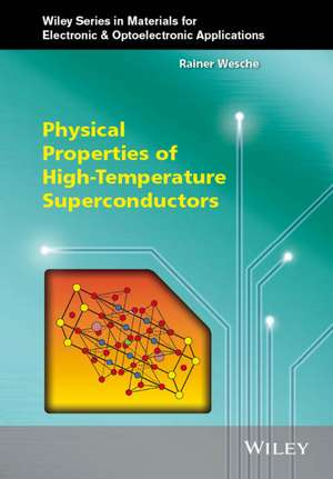 Physical Properties of High–Temperature Superconductors