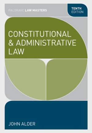 Constitutional and Administrative Law imagine