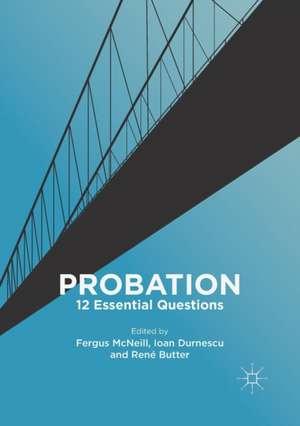 Probation: 12 Essential Questions de Fergus McNeill