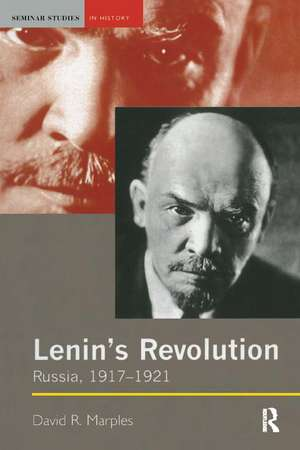 Lenin's Revolution de David R. Marples