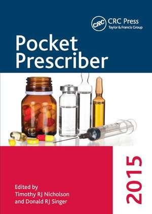 Pocket Prescriber 2015 de Timothy RJ Nicholson