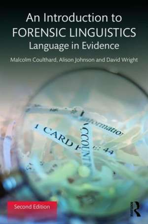 An Introduction to Forensic Linguistics imagine