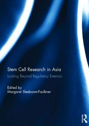 Stem Cell Research in Asia