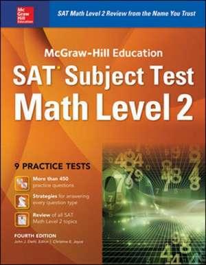 McGraw-Hill Education SAT Subject Test Math Level 2 4th Ed. de John Diehl