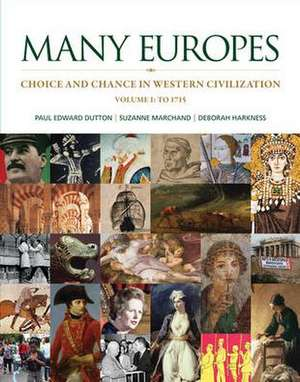 LL Many Europes Vol 1 with Connect 1-Term Access Card de Paul Dutton