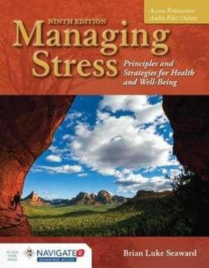 Managing Stress de Brian Luke Seaward