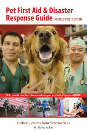 PET 1ST AID & DISASTER RESPONS
