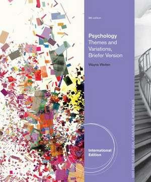 Psychology de Wayne Weiten