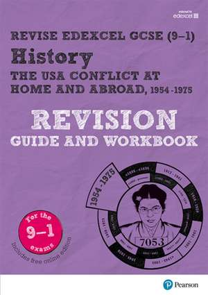 Pearson Edexcel GCSE (9-1) History The USA, 1954-75: conflic de Victoria Payne