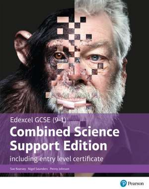 Edexcel GCSE (9-1) Combined Science, Support Edition with ELC, Student Book de Penny Johnson