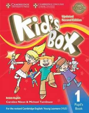 Kid's Box Level 1 Pupil's Book British English de Caroline Nixon