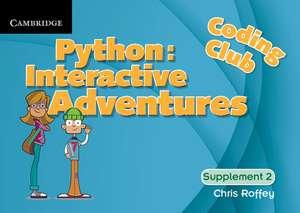 Coding Club Python: Interactive Adventures Supplement 2 imagine