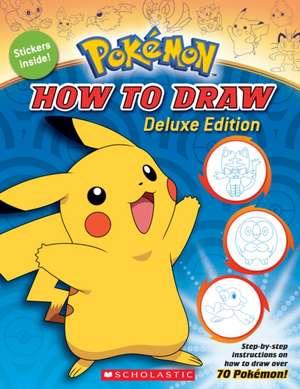 Pokémon: How to Draw de Maria S. Barbo
