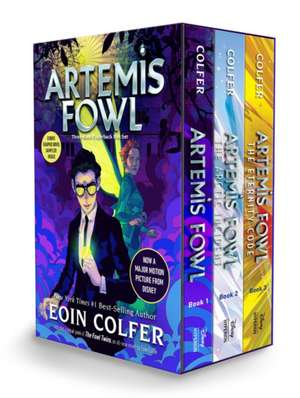 Artemis Fowl 3-book Paperback Boxed Set (Artemis Fowl, Books 1-3) imagine