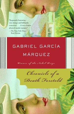 Chronicle of a Death Foretold de Gabriel Garcia Marquez
