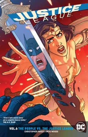 Justice League Vol. 6 (Rebirth) de Christopher Priest