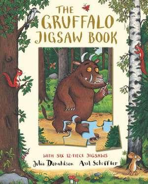 The Gruffalo Jigsaw Book imagine