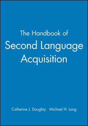 The Handbook of Second Language Acquisition imagine