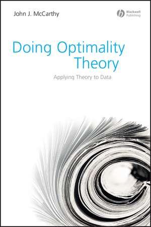 Doing Optimality Theory imagine