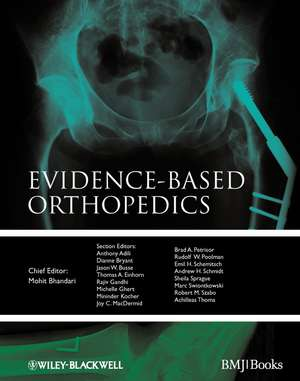 Evidence–based Orthopedics