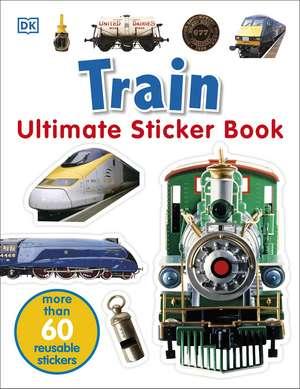 Train Ultimate Sticker Book imagine