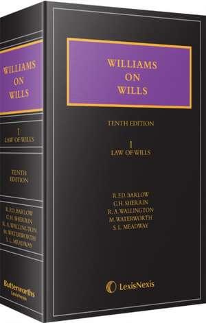 Williams on Wills de R. F. D. Barlow
