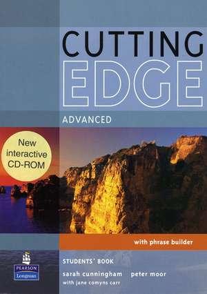 Cutting Edge Advanced Students Book inklusive CD de Sarah Cunningham