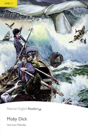 Moby Dick, Level 2, Penguin Readers:  Elementary Business English Course Book with CD-ROM de Herman Melville